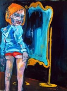 "dana ellyn painting ""mirror"""